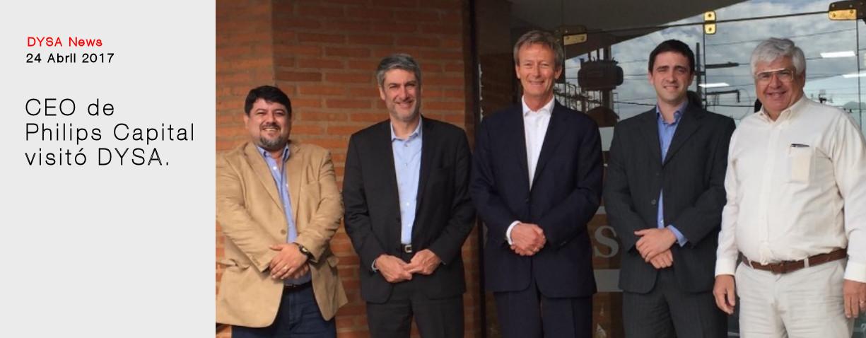 CEO Philips visita DYSA